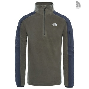 Mikina The North Face M 100 GLACIER 1/4 ZIP 2UAP2UY, The North Face