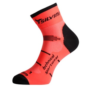 Ponožky Silvini Orato UA445 orange, Silvini