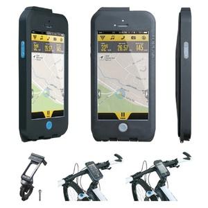 Obal Topeak Weatherproof RideCase pro iPhone 5 + SE černá/modrá TT9838BU, Topeak
