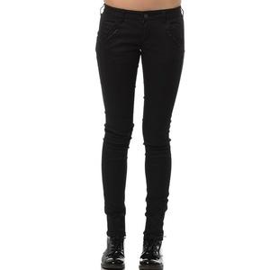 Kalhoty Mavi Liv Black coated str, MAVI