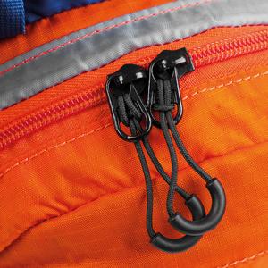 Cyklistický a běžecký batoh Spokey DEW15 l oranžovo-modrý, Spokey