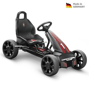 Dětská šlapací kára PUKY Go Cart Air F 550 černo/červená, Puky