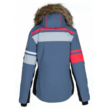 Dámská vyhřívaná lyžařská bunda Kilpi ANIELA-W modrá, Kilpi