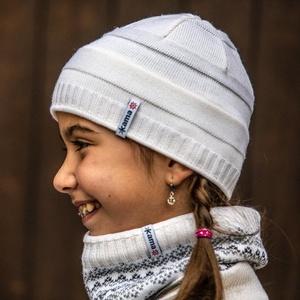 Dětská pletená Merino čepice Kama B78 100, Kama