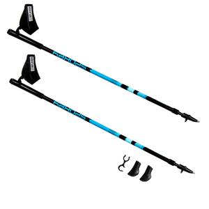 Hole Nordic Walking Spokey ZIGZAG II modro-černé