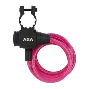 Zámek AXA Rigid 120/8 klíč růžový 59713096SC, AXA