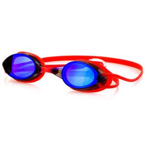 Plavecké brýle Spokey SPARKI červené, zrcadlová skla, Spokey