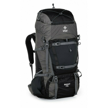 Turistický batoh 70 L Kilpi BIGGY-U tmavě šedá, Kilpi