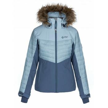 Dámská lyžařská bunda Kilpi BREDA-W světle modrá, Kilpi