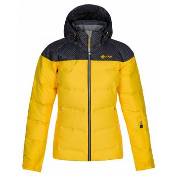 Dámská lyžařská bunda Kilpi BUFFY-W žlutá, Kilpi