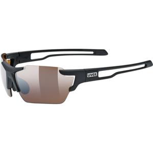 Sportovní brýle Uvex SPORTSTYLE 803 SMALL CV (ColorVision), Black Mat (2291), Uvex