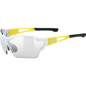 Sportovní brýle Uvex SPORTSTYLE 803 RACE VM, White Yellow (8605), Uvex