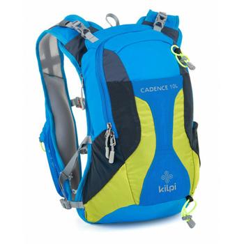 Cyklistický a běžecký batoh 10 L Kilpi CADENCE-U modrý, Kilpi