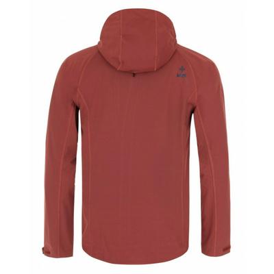 Pánská softshellová bunda Kilpi CAMPO-M tmavě červená, Kilpi