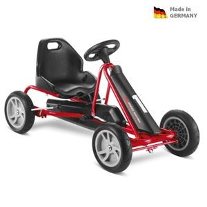 Dětská šlapací kára PUKY Go Cart F 20 černo/červená, Puky
