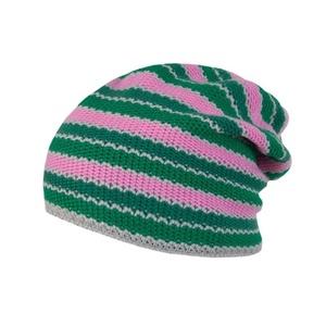 Čepice Sensor Stripes růžová/zelená 16200194, Sensor