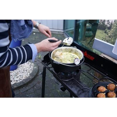 Litinový hrnec Camp Chef 30 cm s poklicí a košem, Camp Chef