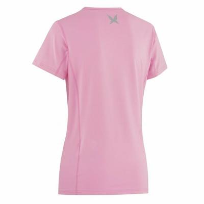 Dámské triko Kari Traa Nora Tee 622638, růžová II, Kari Traa