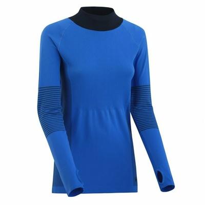 Dámské sportovní triko s dlouhým rukávem Kari Traa Sofie 622041, modrá