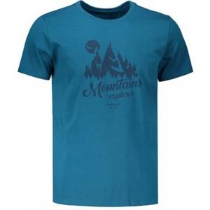 Tričko HANNAH Emblem blue saphire