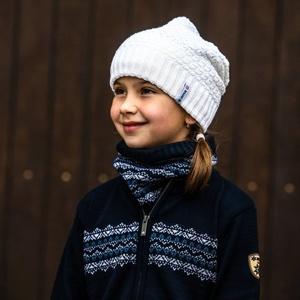 Dětská pletená Merino čepice Kama B77 100, Kama