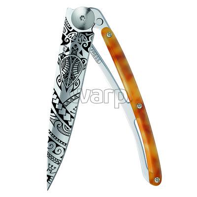 Kapesní nůž Deejo 1AC101 Tatto 37g turtle shell Polynesia, Deejo