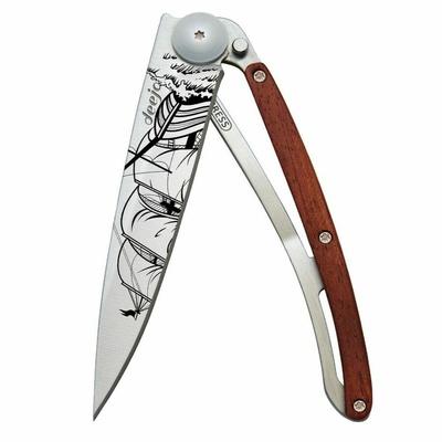 Kapesní nůž Deejo 1CB063 Tattoo 37g, Coralwood Corsair, Deejo