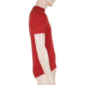 Pánské triko Sensor MERINO DOUBLE FACE tm. červená 18200044, Sensor