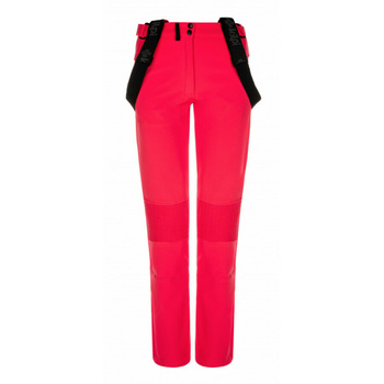 Dámské softshellové kalhoty Kilpi DIONE-W růžové, Kilpi