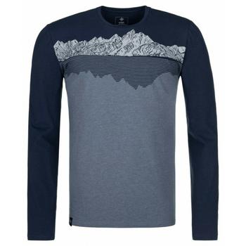 Pánské tričko s dlouhým rukávem Kilpi DRUMON-M modrá