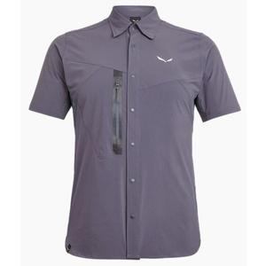 Košile Salewa PUEZ HYBRID DST M S/S SHIRT 27395-3866, Salewa