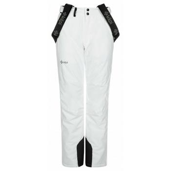 Dámské lyžařské kalhoty Kilpi ELARE-W bílé, Kilpi