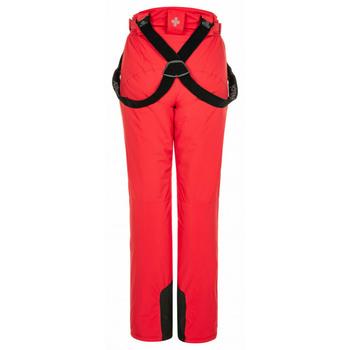 Dámské lyžařské kalhoty Kilpi ELARE-W červené, Kilpi