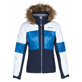 Dámská lyžařská bunda Kilpi ELZA-W tmavě modrá, Kilpi