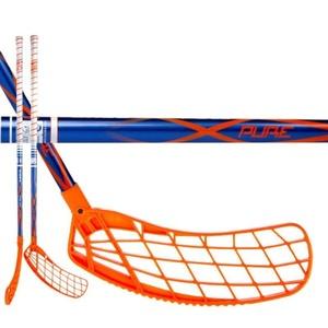 Florbalová hůl EXEL P40 BLUE 3.4 75 ROUND SB, Exel