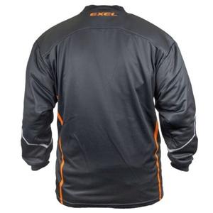 Brankářský dres EXEL S100 GOALIE JERSEY black/orange, Exel