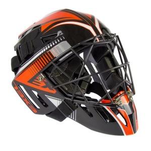 Golmanská helma EXEL S100 HELMET senior black/orange, Exel