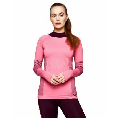 Dámské sportovní triko s dlouhým rukávem Kari Traa Sofie 622041, růžová, Kari Traa