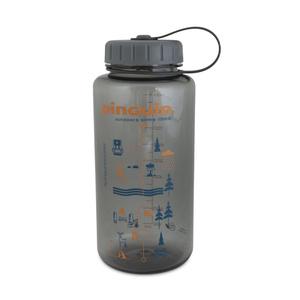 Láhev Pinguin Tritan Fat Bottle Grey 2020 1000 ml, Pinguin