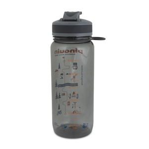 Láhev Pinguin Tritan Sport Bottle 0,65L grey, Pinguin