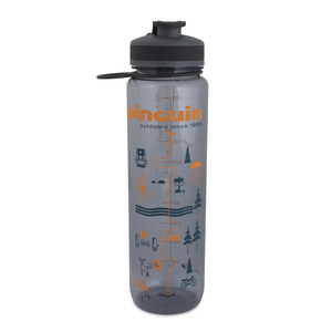Láhev Pinguin Tritan Sport Bottle 1,0L grey, Pinguin
