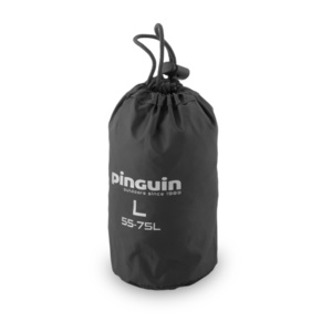 Pláštěnka na batoh Pinguin Raincover L 55-75l černá, Pinguin