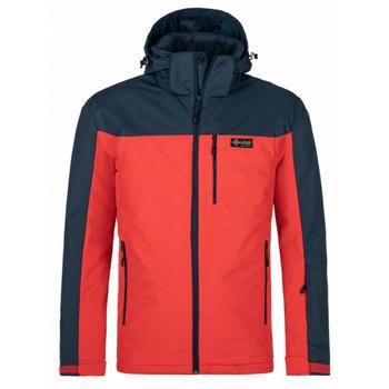 Pánská lyžařská bunda Kilpi FLIP-M červená, Kilpi