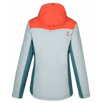 Dámská lyžařská bunda Kilpi FLIP-W světle modrá, Kilpi
