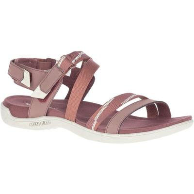 Dámské sandály Merrell District Mendi Backstrap marron/burlwood, Merrel