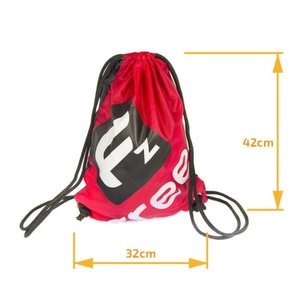 Vak FREEZ VERSO GYMSACK BLACK-RED, Freez