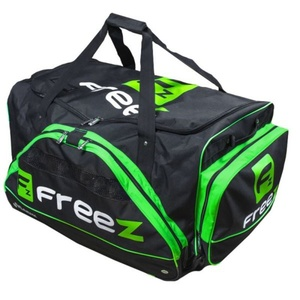 Sportovní taška FREEZ WHEELBAG MONSTER-80 BLACK-GREEN, Freez