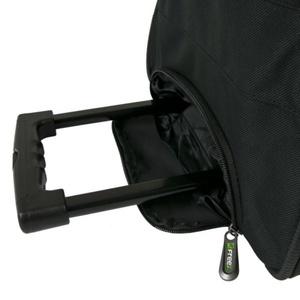 Sportovní taška FREEZ WHEELBAG PREMIER-76 BLACK-GREEN, Freez