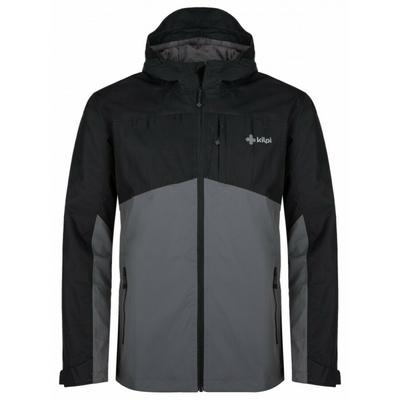 Pánská outdoorová bunda Kilpi ORLETI-M tmavě šedá, Kilpi