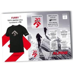 Triko Direct Alpine Furry black (brand 20 let), Direct Alpine